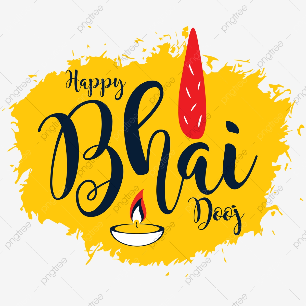 Happy Bhai Dooj Festival Vector Indian Festival Happy Bhai Png And Vector With Transparent Background For Free Download