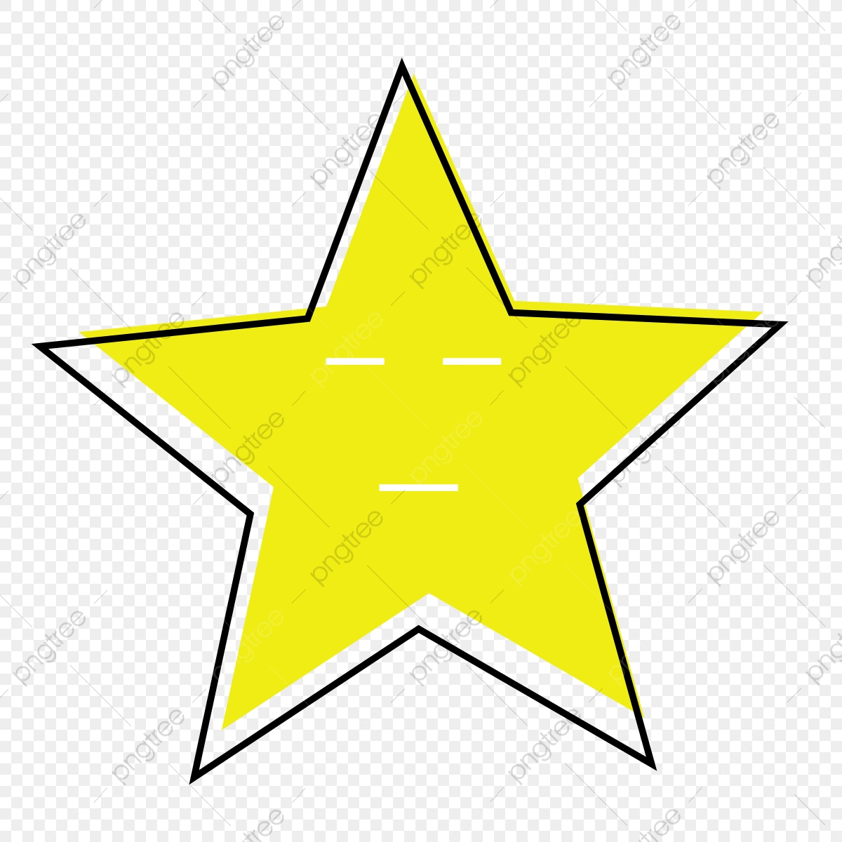 نجوم غير منتظمة قصاصة فنية الصندوق الأسود التعبير نجمة Png وملف Psd للتحميل مجانا
