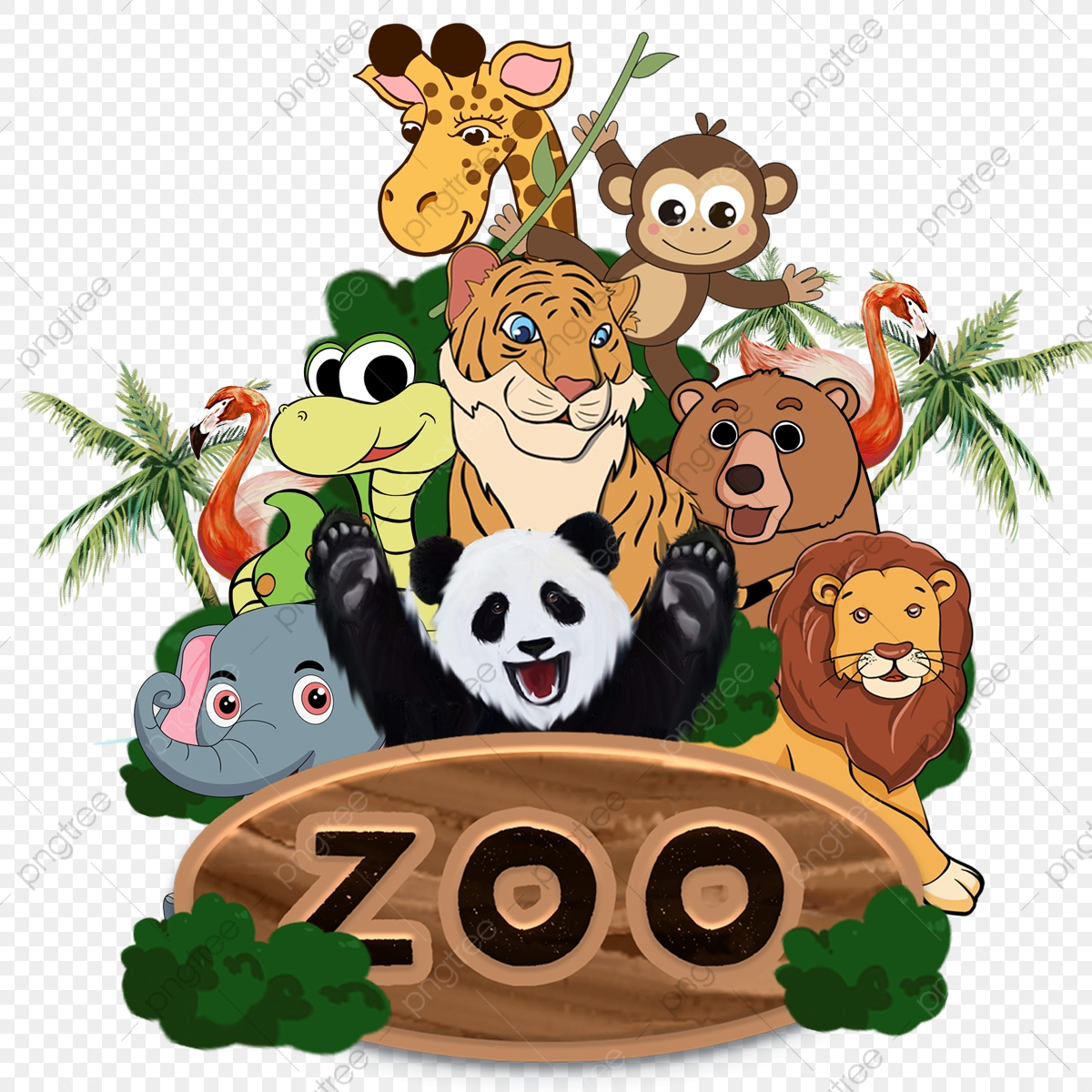 Zoo Clipart Png Images Vector And Psd Files Free Download On Pngtree