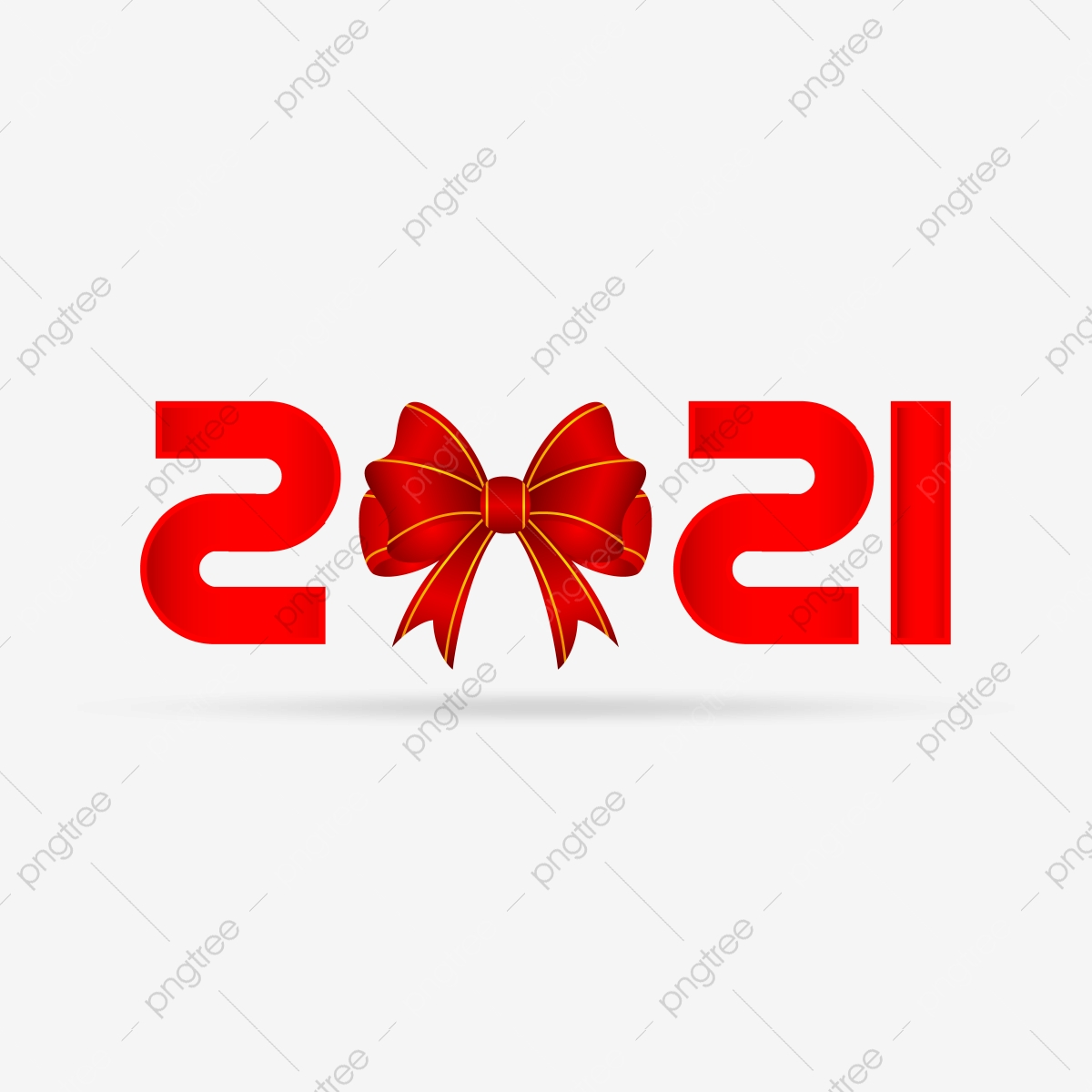 Christmas Ribbon 2021 Happy New Year 2021 With Christmas Ribbon Happy New Year 2021 Celebration Png And Vector With Transparent Background For Free Download