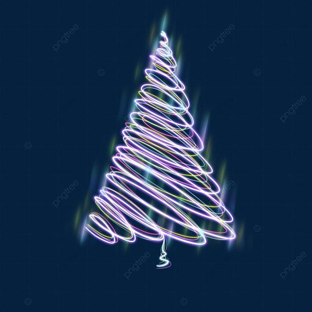 christmas tree light effect