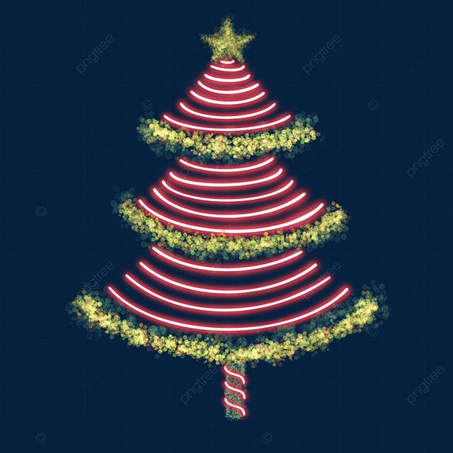 light effect christmas tree