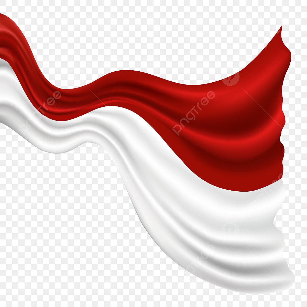 Bendera Indonesia Flag Abstract Vector Bendera Flag