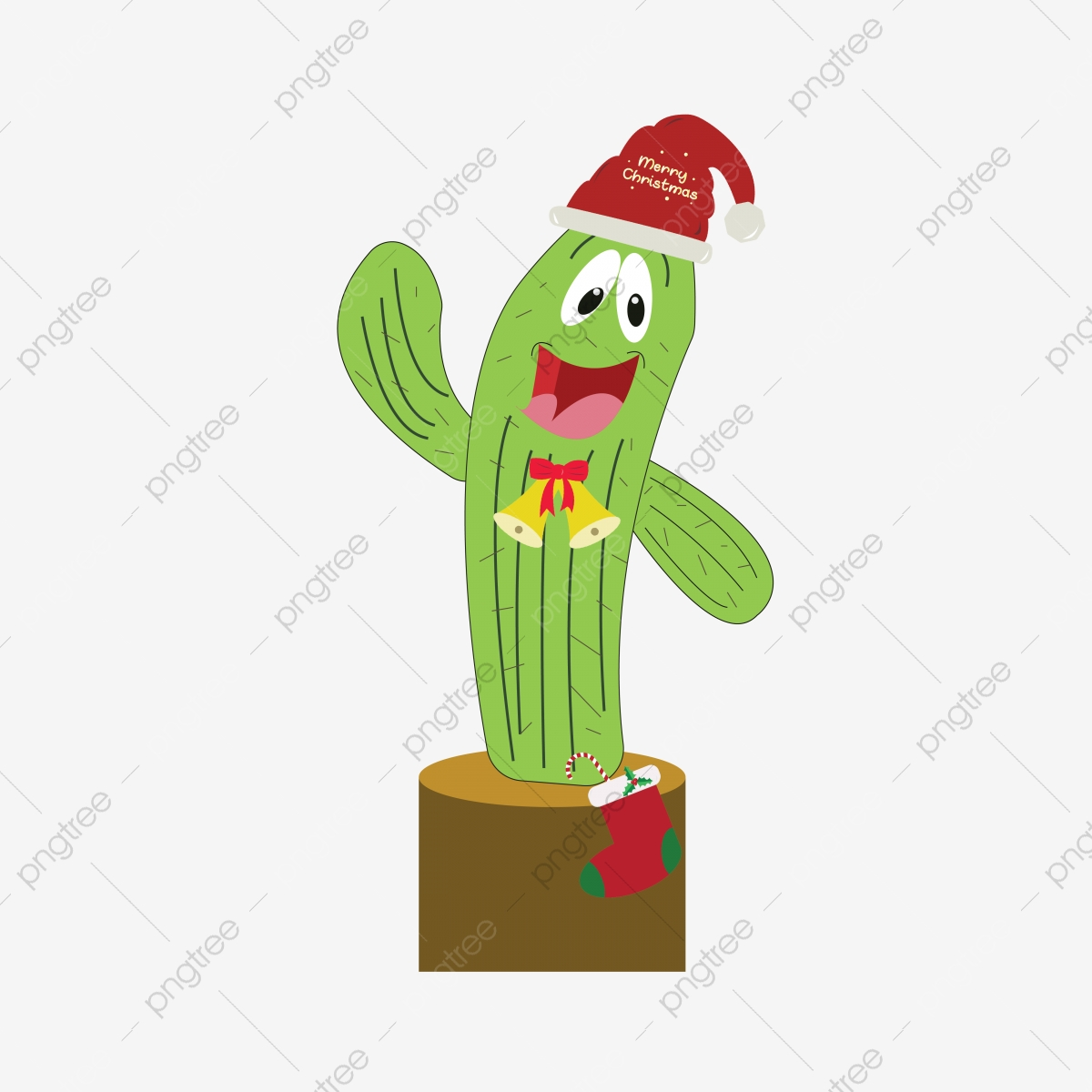 Christmas Cactus 2 By Asiful Christmas Cactus Christmas Merry Christmas Png And Vector With Transparent Background For Free Download