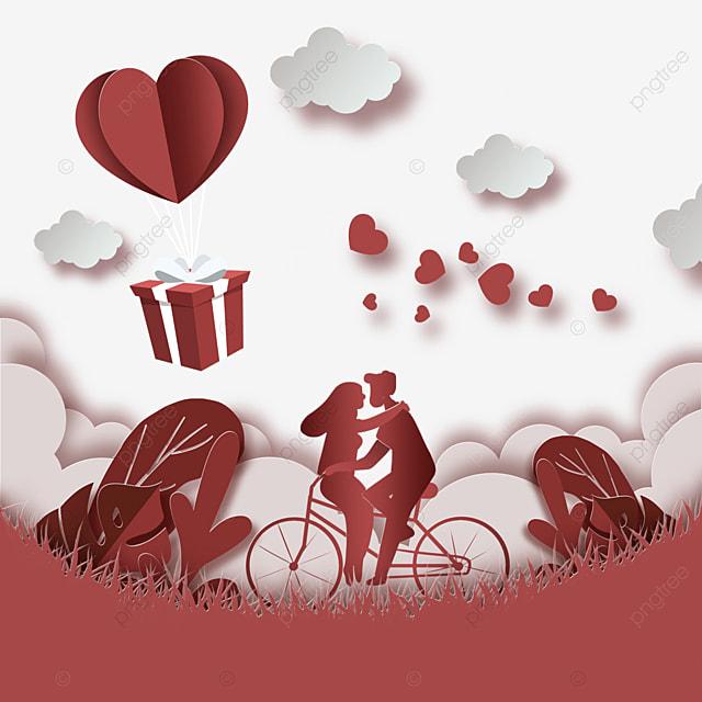 couple cycling couple