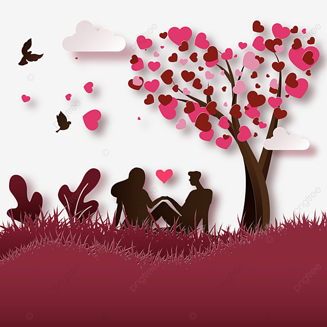 couple playing in the tree