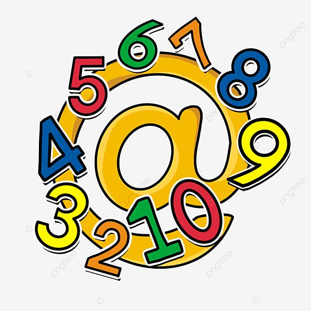 رياضيات قصاصات فنية أرقام الكرتون قصاصات فنية الرياضيات الرياضيات قصاصة فنية رقمي Png وملف Psd للتحميل مجانا