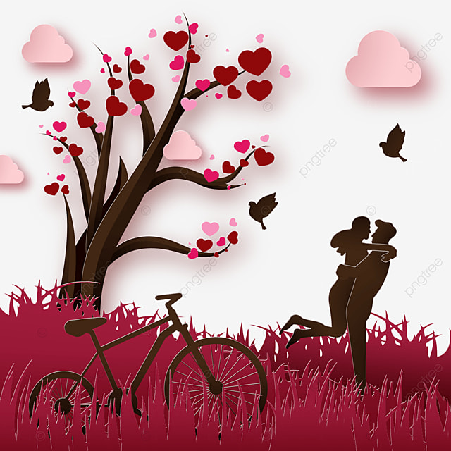 red meadow valentine couple