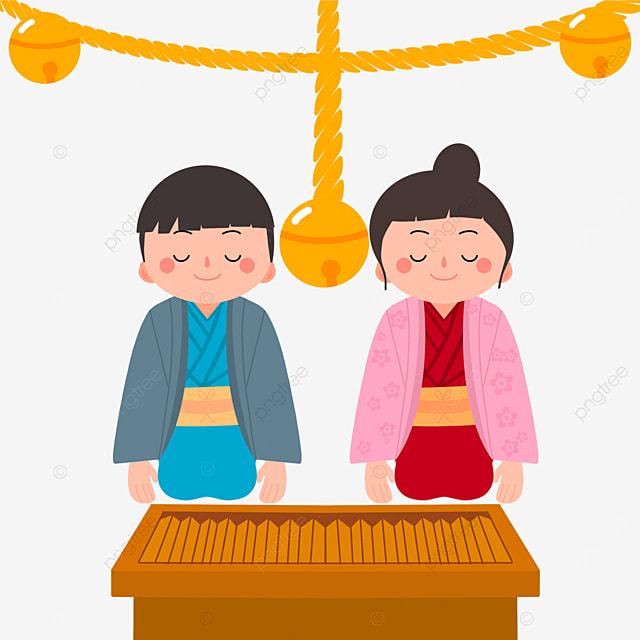 oshogatsu flat wind shrine japanese new year prayer hatsumode