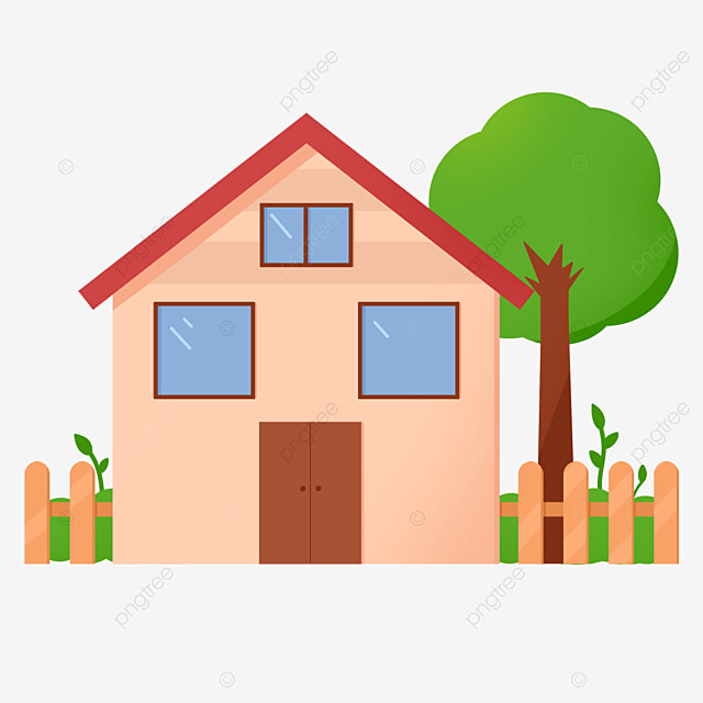 beautiful and delicate home clipart