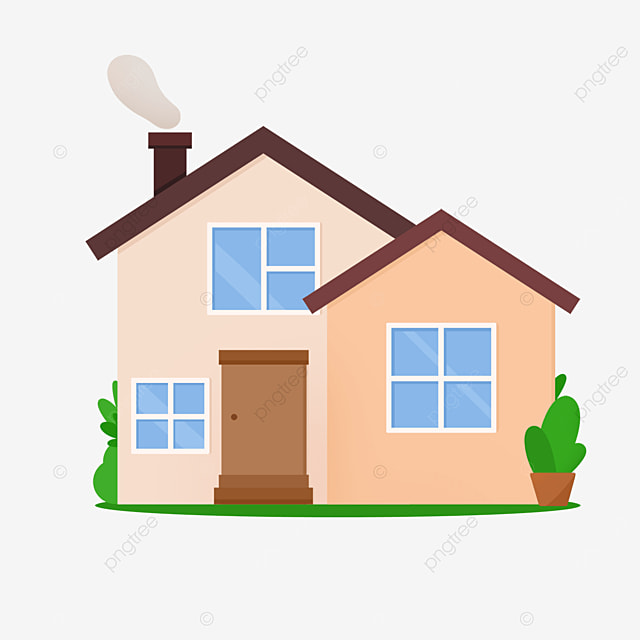 duplex chic home clipart