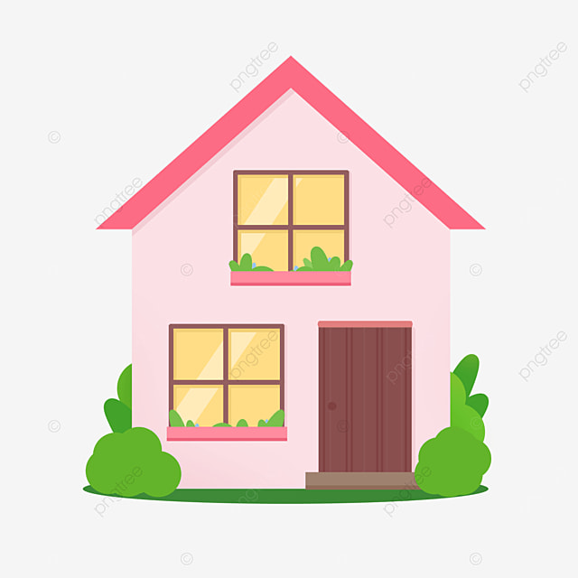 exquisite pink home clipart