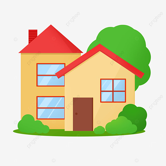 steeple house home clipart