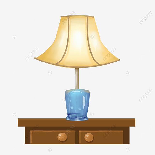 beige fan shaped lamp clip art