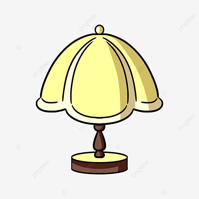 cartoon european lamp clip art