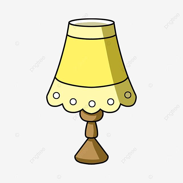 cartoon pattern lamp clipart