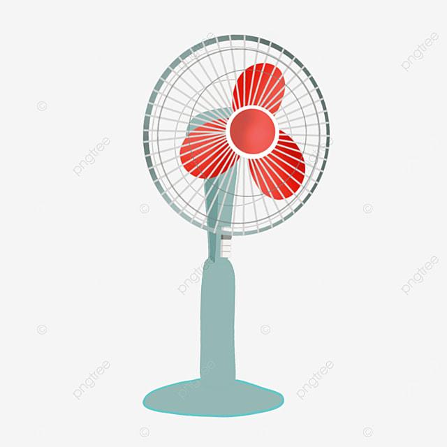 household floor electric fan clipart