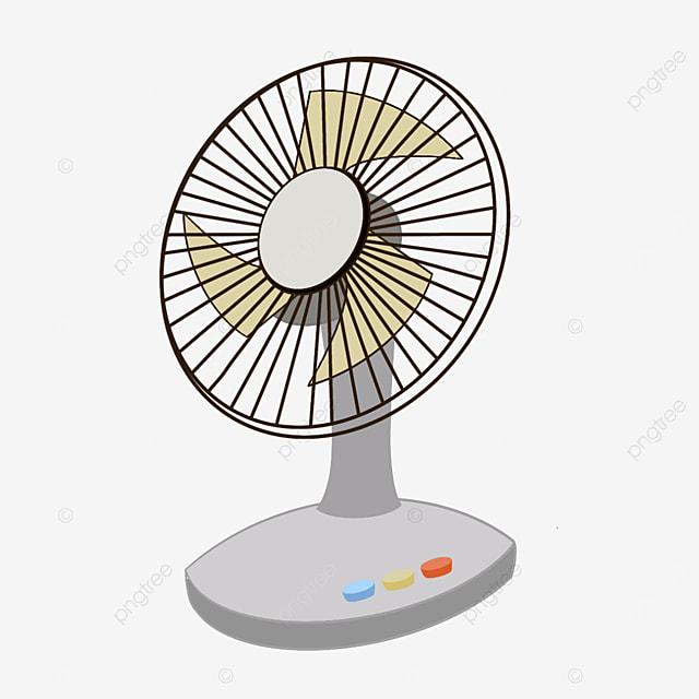 household vertical electric fan clip art