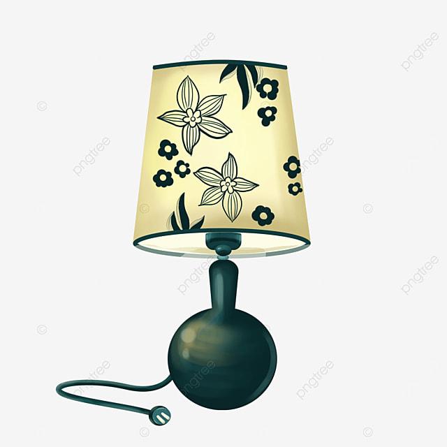 retro fashion pattern lamp clipart