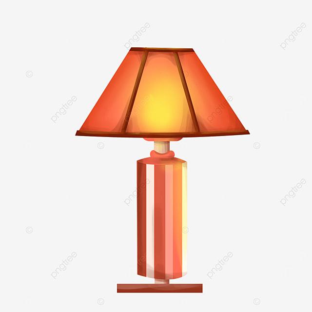 retro generous lamp clipart
