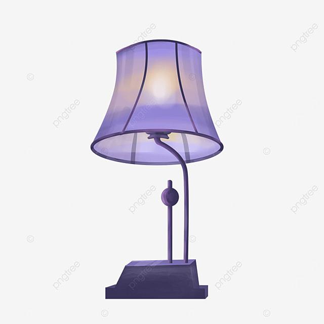 romantic beautiful lamp clipart