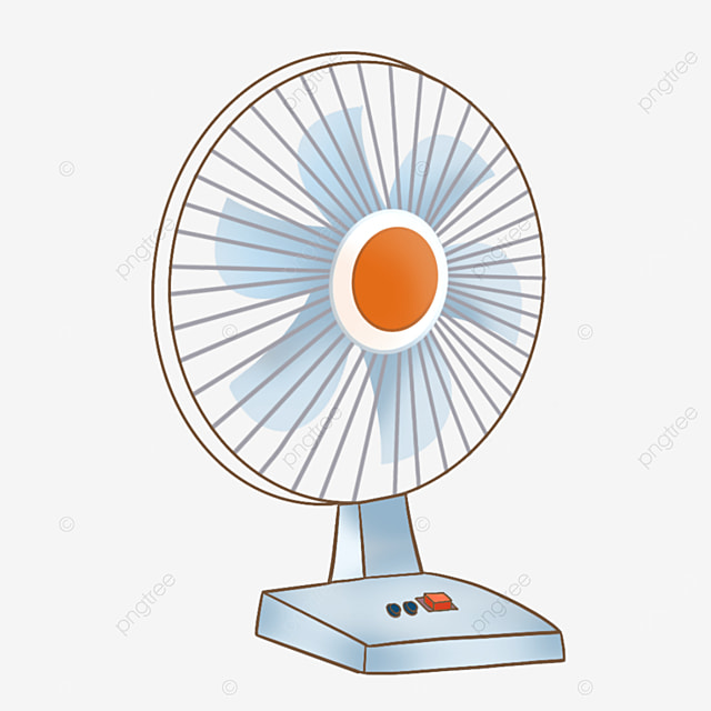 summer household electric fan clipart