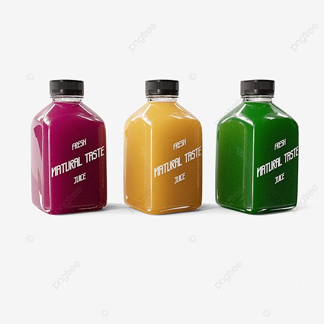 exquisite juice bottle packaging