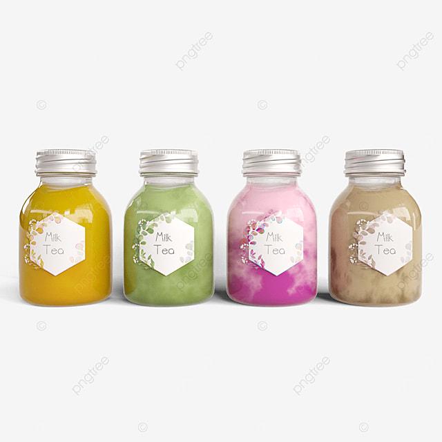 multi flavor milk tea packaging