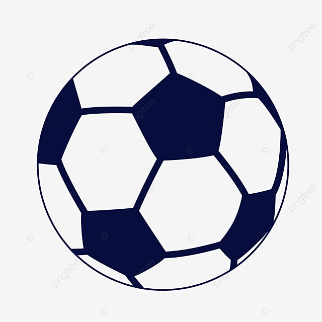 blue ball clipart black and white