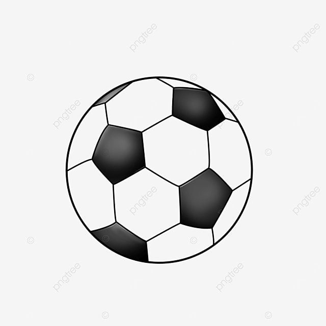 cartoon sports football clip art black and white