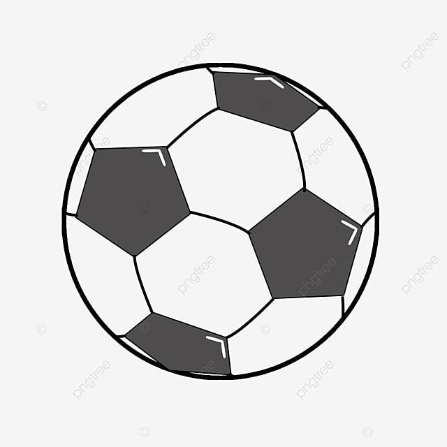 cute football clipart black and white