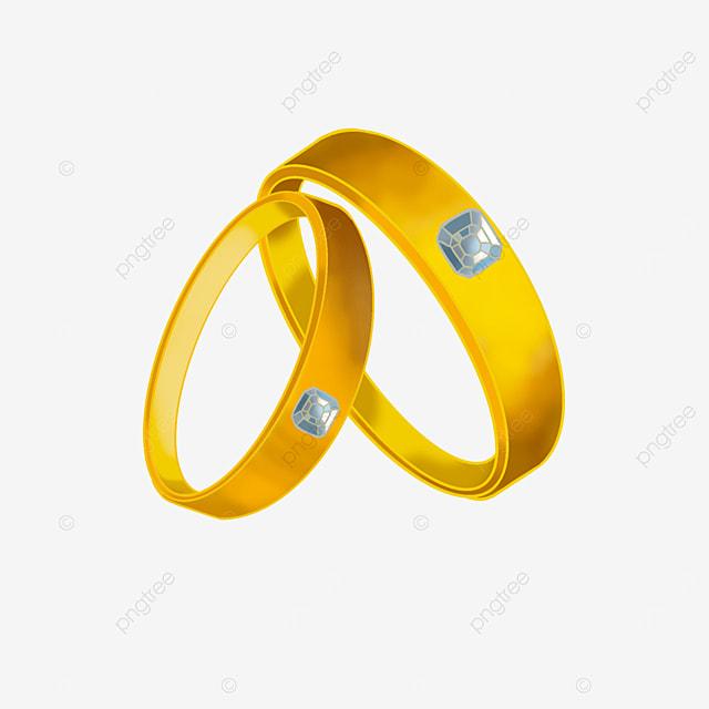 diamond couple ring clip art