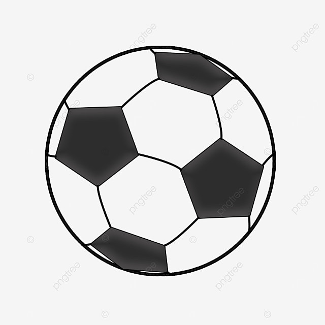 flying ball clipart black and white