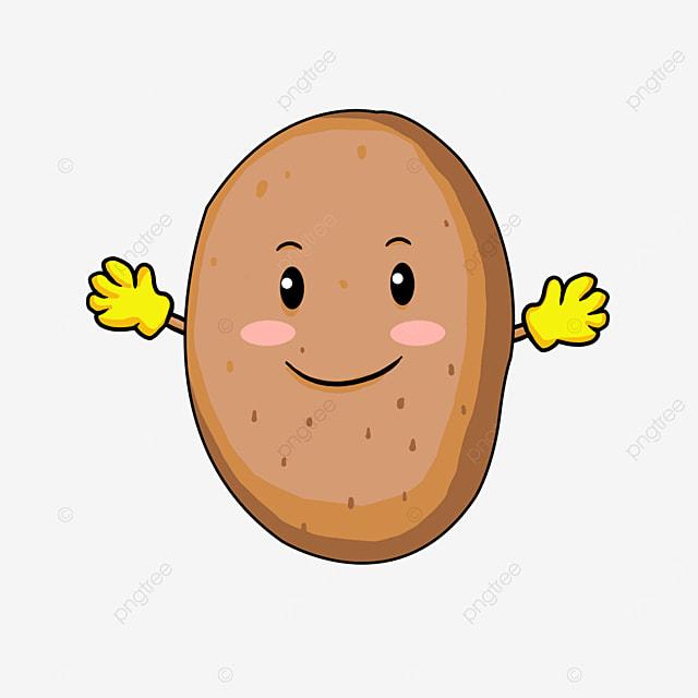 potato clipart cartoon