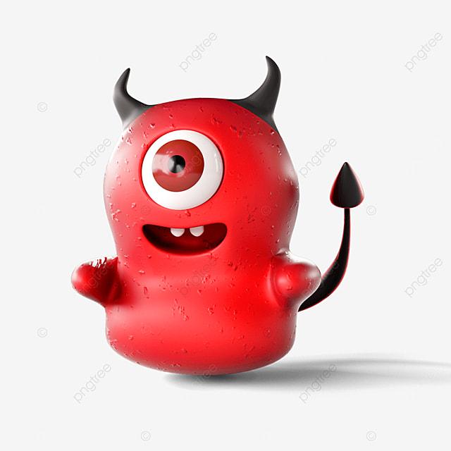 red stereo devil virus