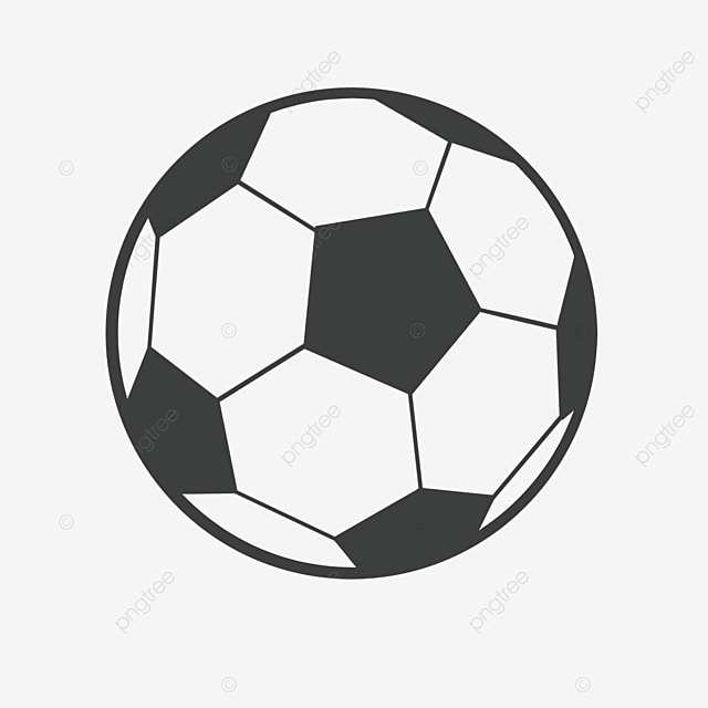 round ball clipart black and white
