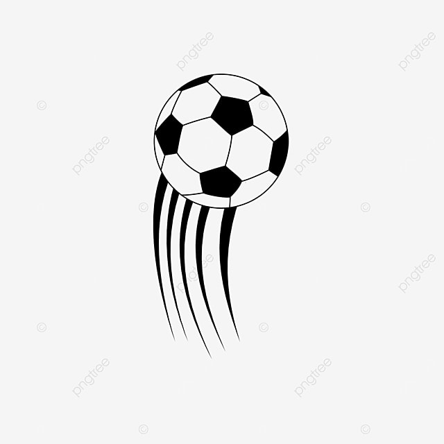 striped football clipart black and white