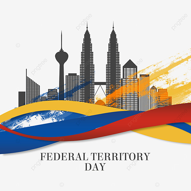 abstract brushes federal territory of malaysia day city architecture