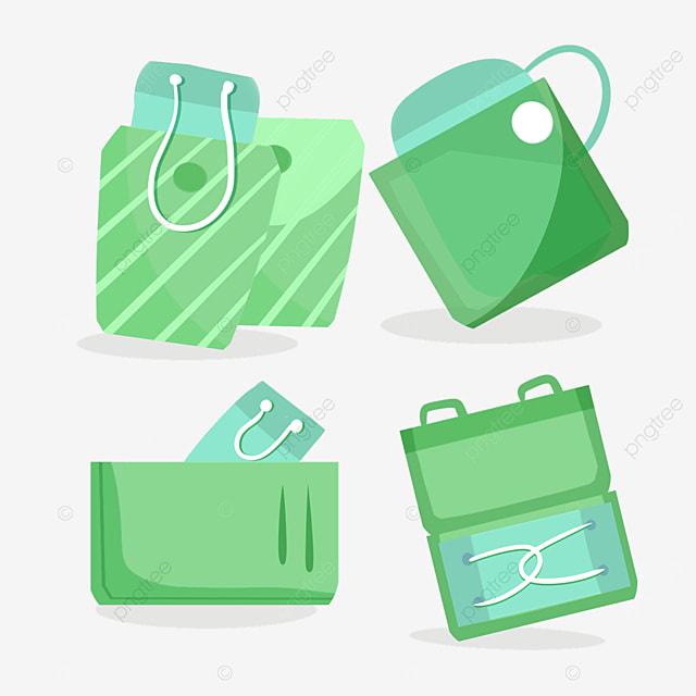 green mask protection bag