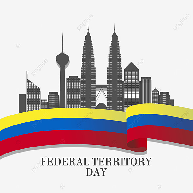 malaysia federal territory day black city silhouette