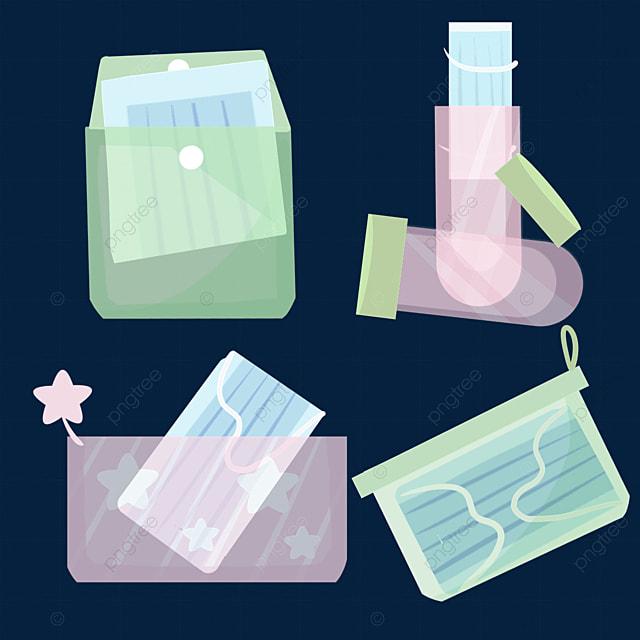 medical transparent hood bag