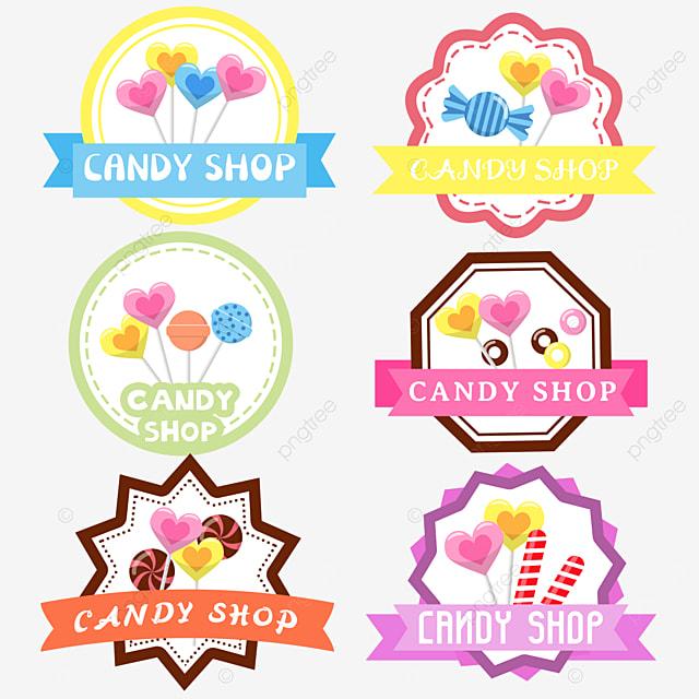 cartoon love lollipop candy shop