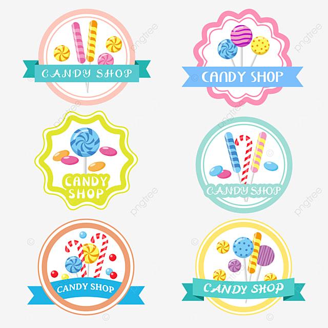 colorful cartoon hard candy candy shop
