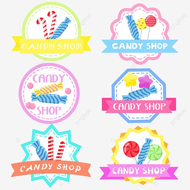 cute blue hard candy candy shop