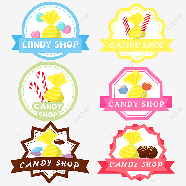 cute hard candy cartoon candy shop