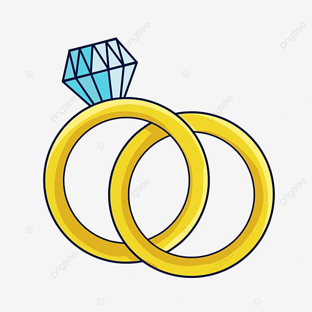 doodle style love diamond ring