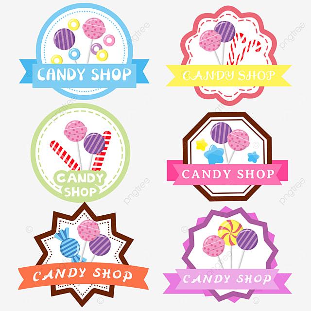 girly cartoon style candy shop