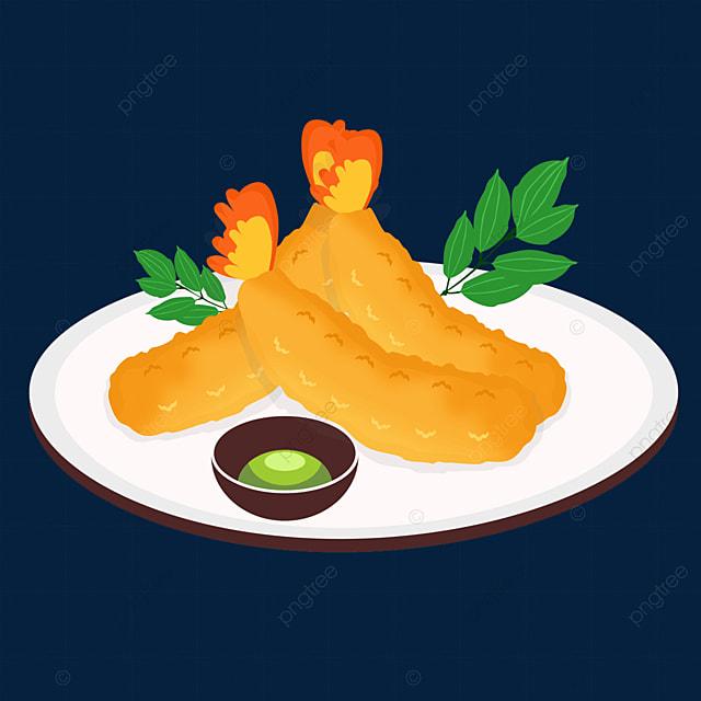 japanese tempura delicious food fried food dipping shrimp