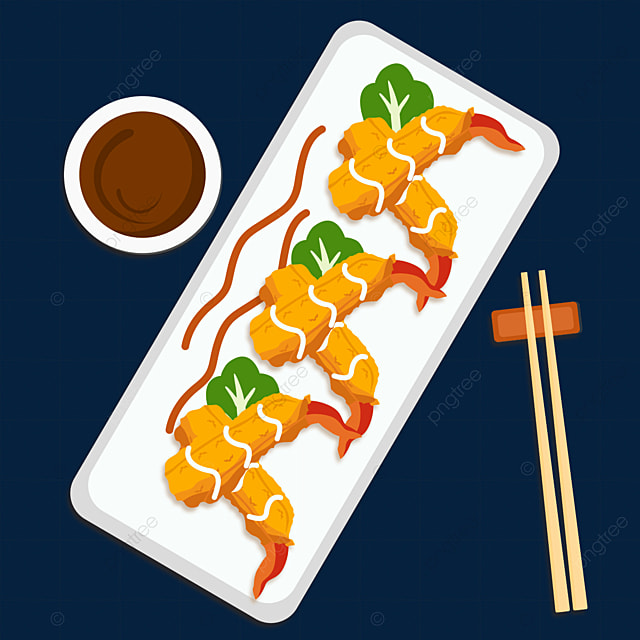 japanese tempura food gourmet chopsticks dining fried fried