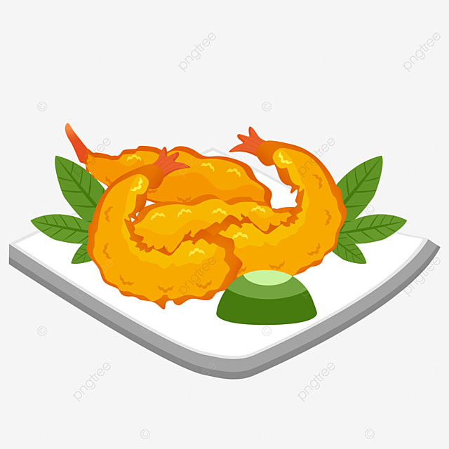 japanese tempura onion rings shrimp seafood tempura